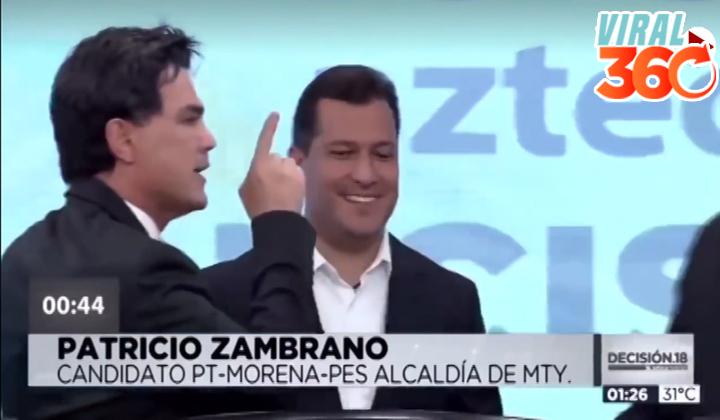 'Pato' Zambrano amenaza con 'romperle la madre' a candidato