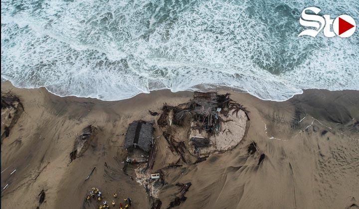 Huracán Bud alcanza categoría 3 y deja daños en México