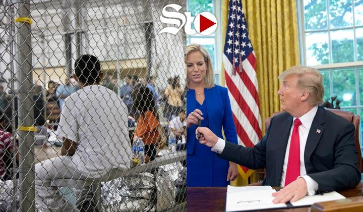 Trump ordena no separar a las familias de inmigrantes