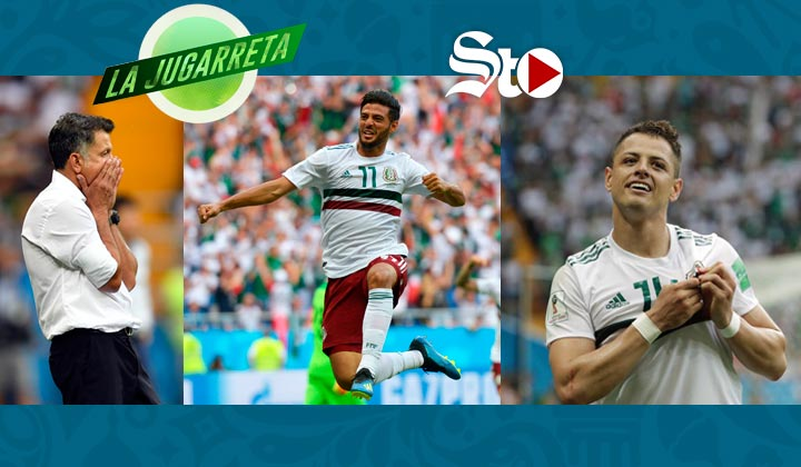Con goles de Vela y 'Chicharito', México se impone 2-1 a Corea