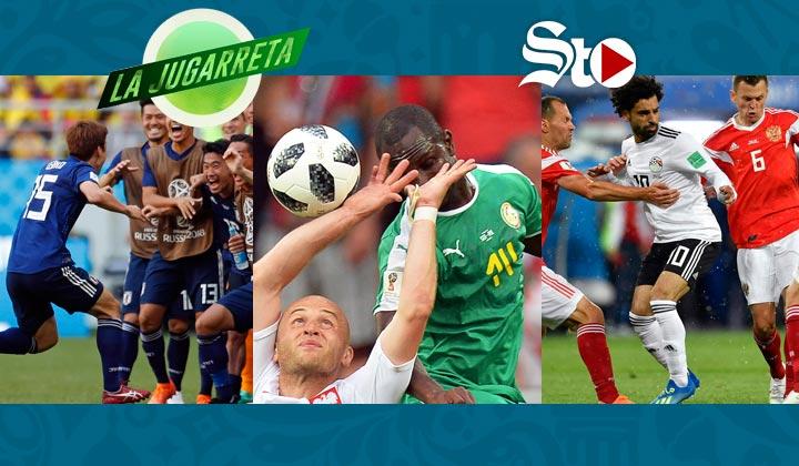 Rusia inicia con goles la segunda fase mundialista