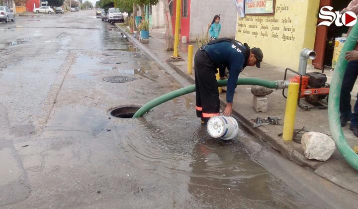 Simas se prepara para las lluvias en Torreón