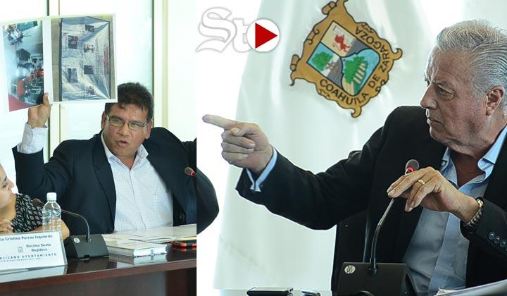 Polemizan por 'campañas negras' en plena Sesión de Cabildo