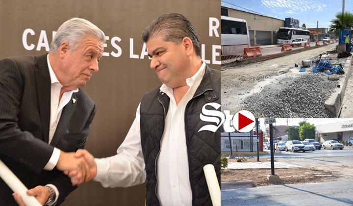 Empresarios arremeten contra obras de Riquelme y Zermeño