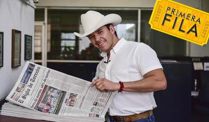 Raúl Sandoval visita El Siglo de Torreón