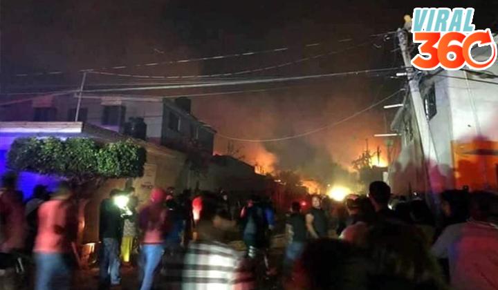Confirman 4 muertos por explosión en Tultepec