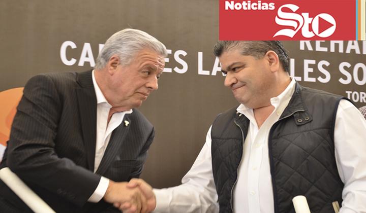 Arremeten empresarios contra obras de Riquelme y Zermeño