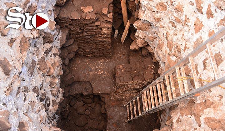 Descubren templo prehispánico tras terremoto en México