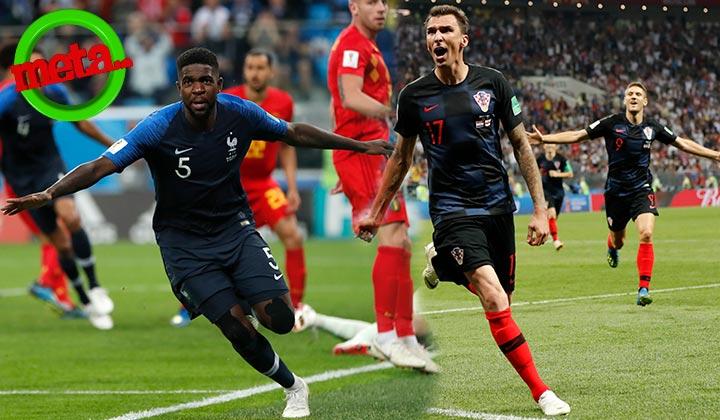 Croacia y Francia jugarán la final del Mundial de Rusia 2018