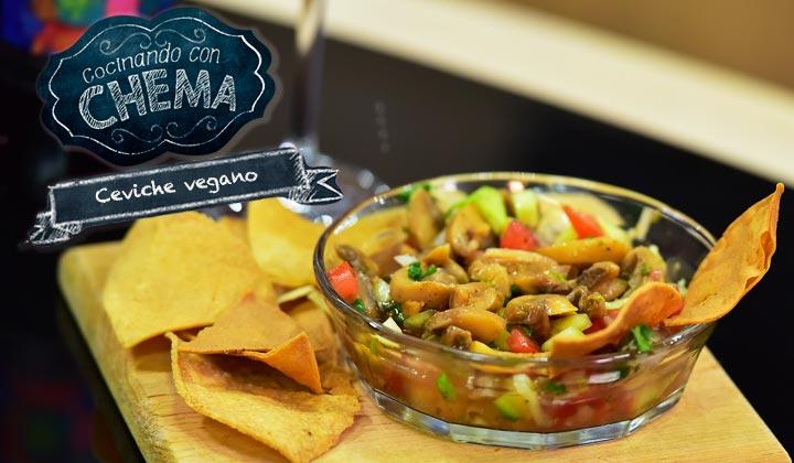 ¡Atrévete a probar un delicioso 'Ceviche vegano'!