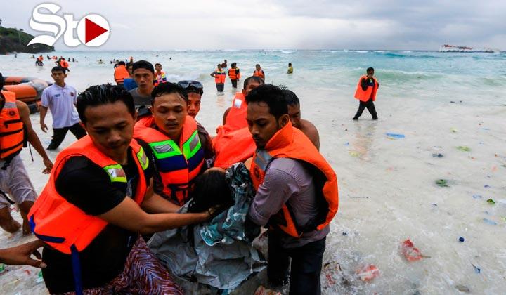 Mueren 34 personas y 155 son rescatadas en naufragio
