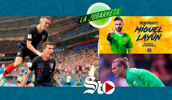 Croacia da la sorpresa y va la Final del Mundial