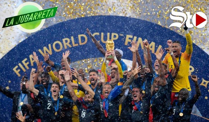 ¡Francia es el nuevo campeón del Mundo!