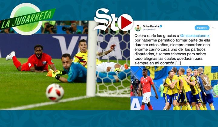 Inglaterra frena a Colombia en penales