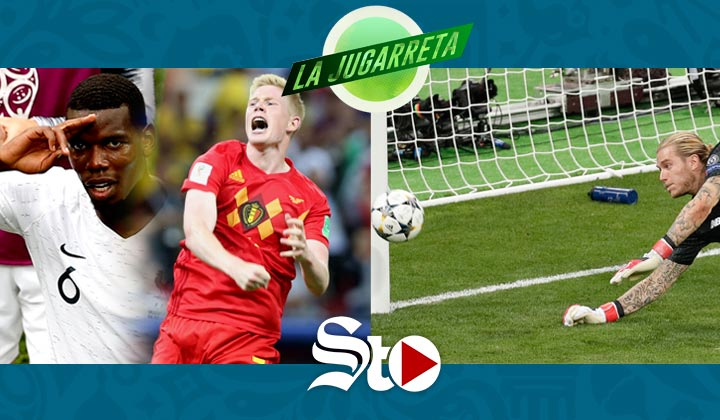 Francia vs Bélgica ¿Cuál será finalista?
