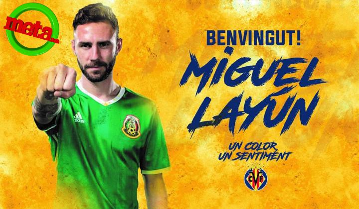 Layún firma con el Villarreal por tres temporadas