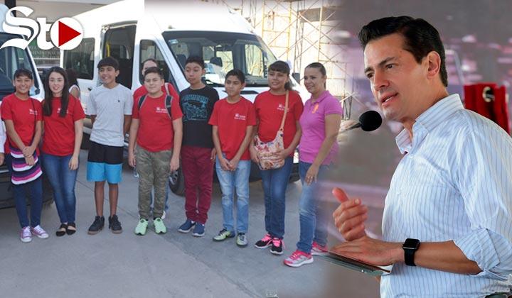 Niños laguneros se irán de vacaciones con Peña Nieto