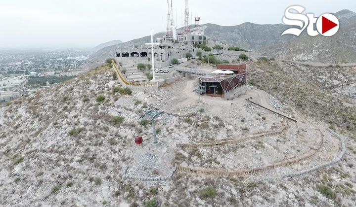 Inicia construcción de parque  en el Cerro de las Noas
