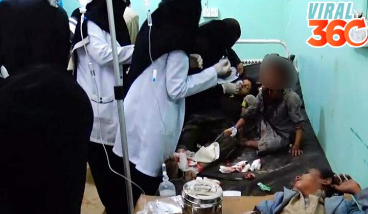 Mueren 29 niños en bombardeo contra autobuses en Yemen