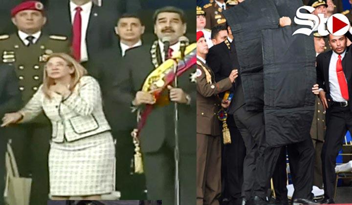Maduro responsabiliza de atentado a presidente de Colombia