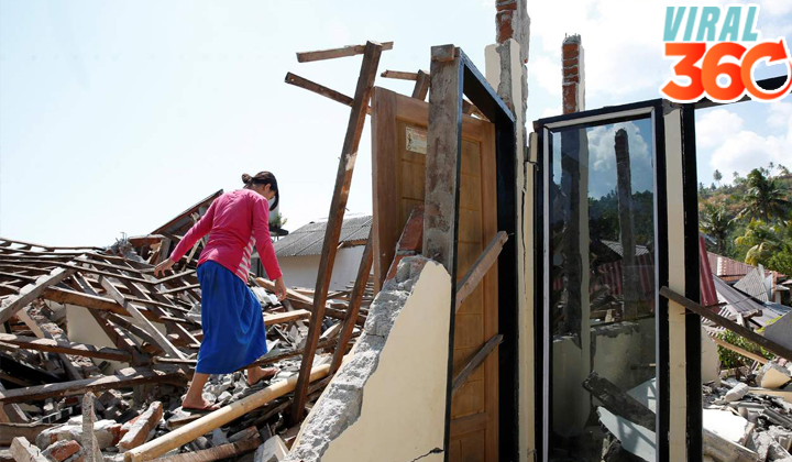 Suman 321 los muertos por sismo en Indonesia