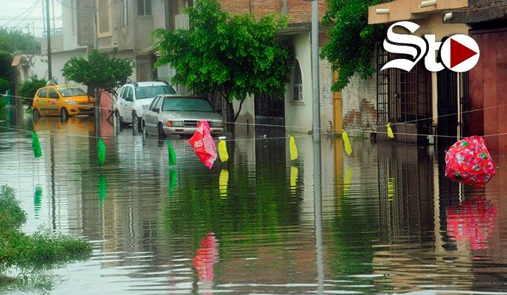Torreón tuvo hasta un 50% más de lluvias que en un año