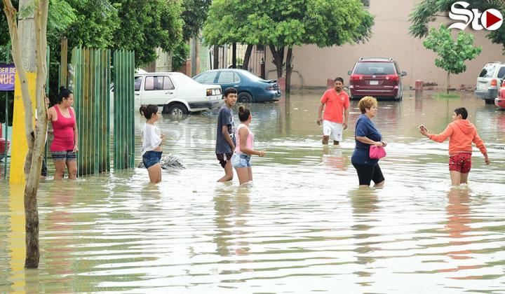 Registran captación de 48.5 mm de agua de lluvia en Torreón