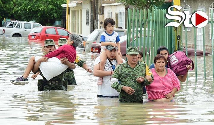 Lluvias dejan casi 100 mil afectados en Coahuila