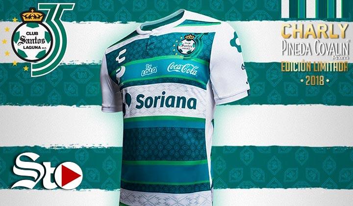 Santos presenta jersey por 35 aniversario 85ed70540ec2f