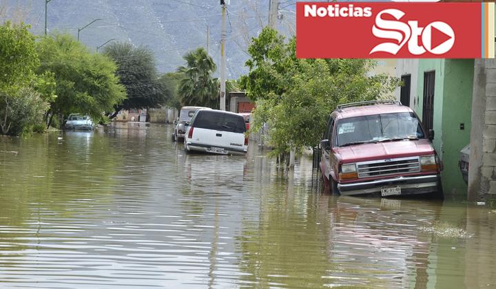En Torreón ha llovido más en 4 días que en un año