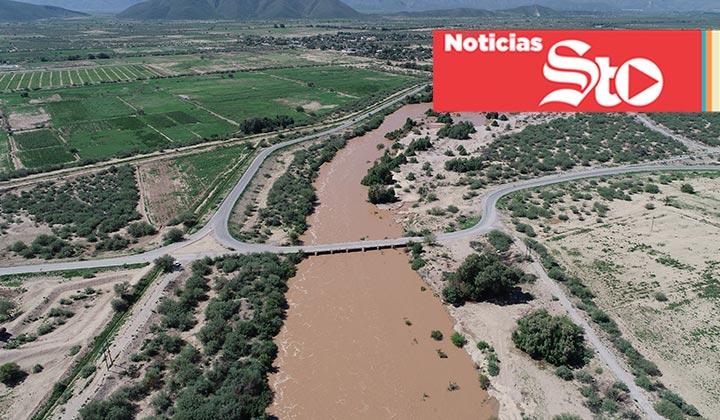 Baja caudal del Río Aguanaval; descartan riesgo