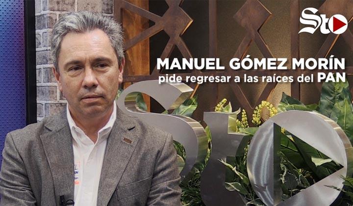 Manuel Gómez Morín pide regresar a las raíces del PAN