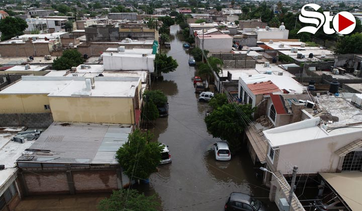 Lanzan llamado de auxilio ante inundaciones por lluvias