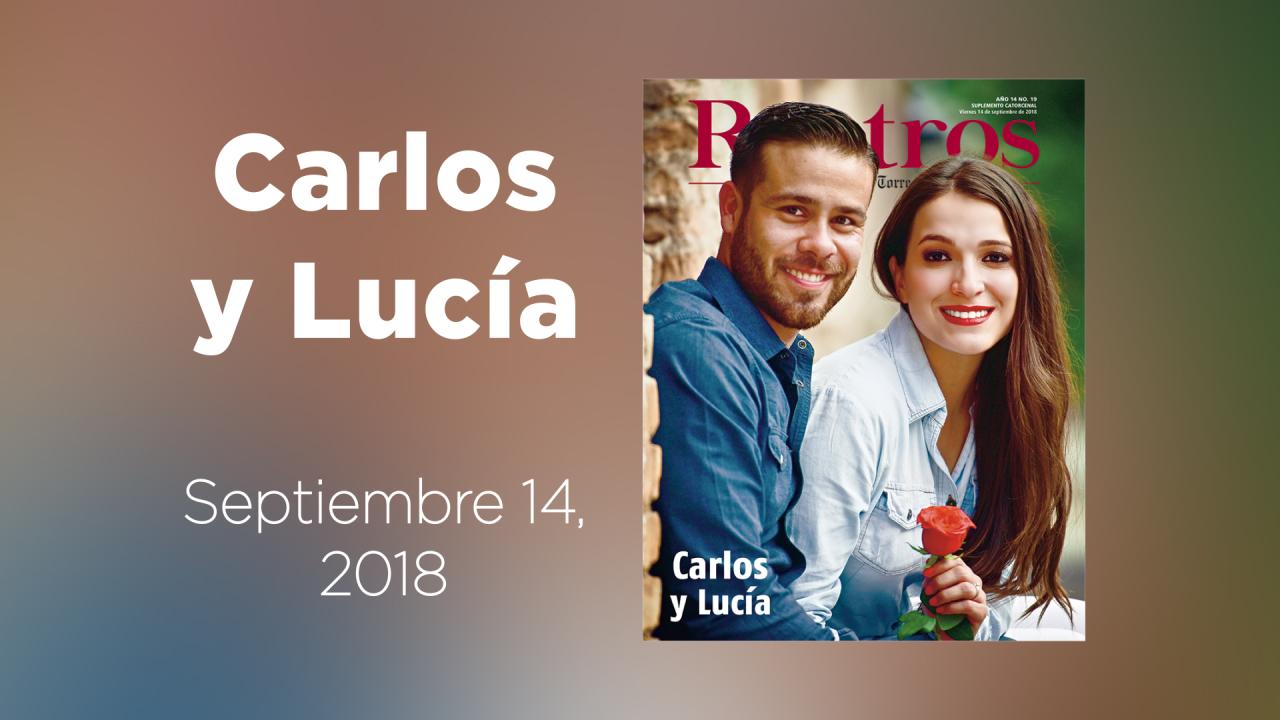 En la nueva galería animad de Rostros: Carlos y Lucía