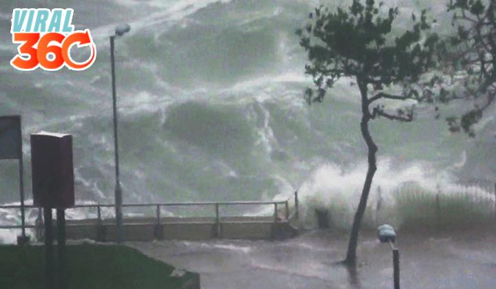 Mangkhut, el tifón más grave del año