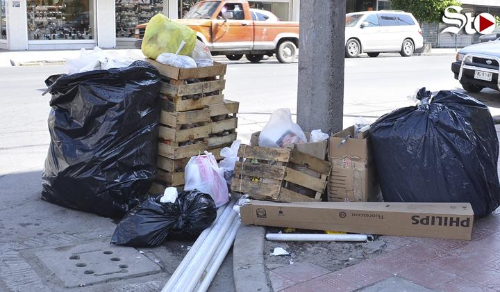 Cambian horario de recolección de basura