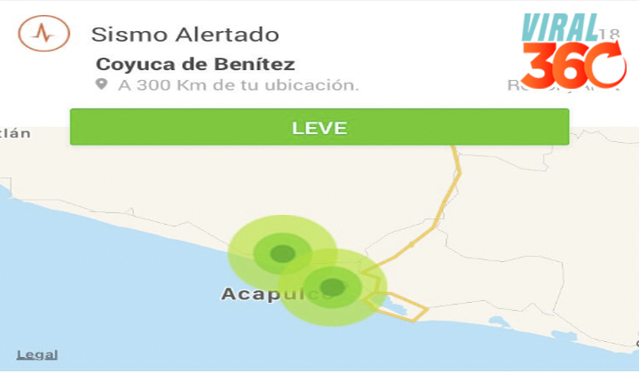 Registran sismo magnitud 4.3 en Acapulco