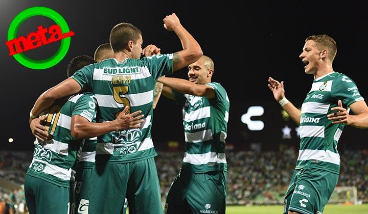 Con autoridad, Santos Laguna castiga 3-1 a Atlas