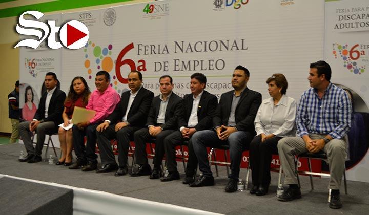 Feria de empleo para personas con discapacidad y tercera edad