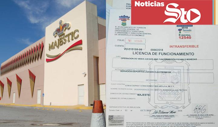 Municipio de Torreón aclara licencia de funcionamiento de casino
