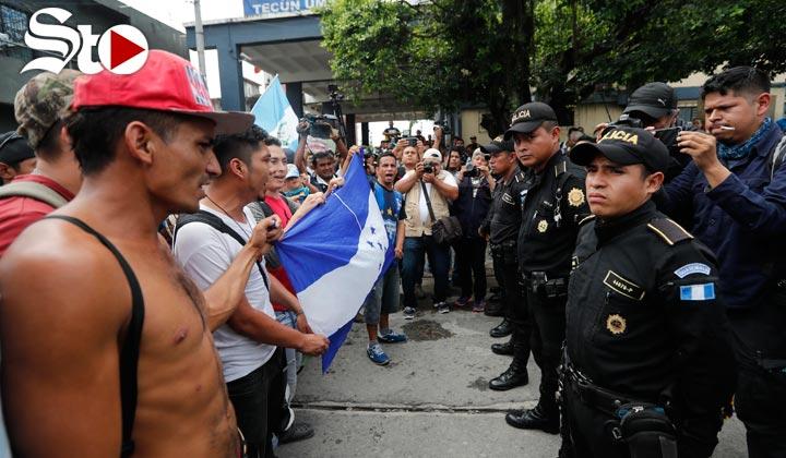 Caravana migrante pasaría por Coahuila con más de 3 mil personas