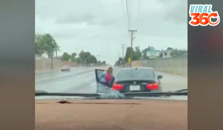Chico se roba auto de la familia y recibe 'cinturonazos'