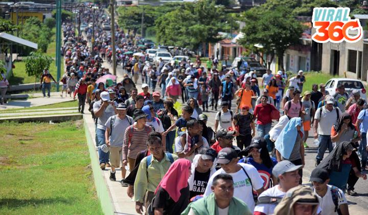Caravana migrante, una emergencia nacional: Trump