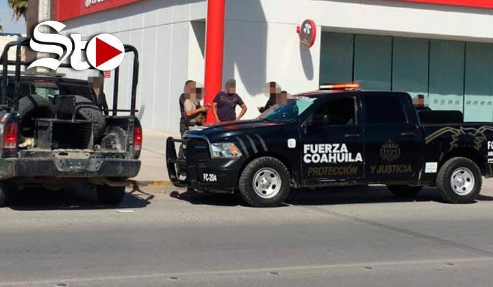Asaltan a cuentahabiente al salir de un banco en El Fresno