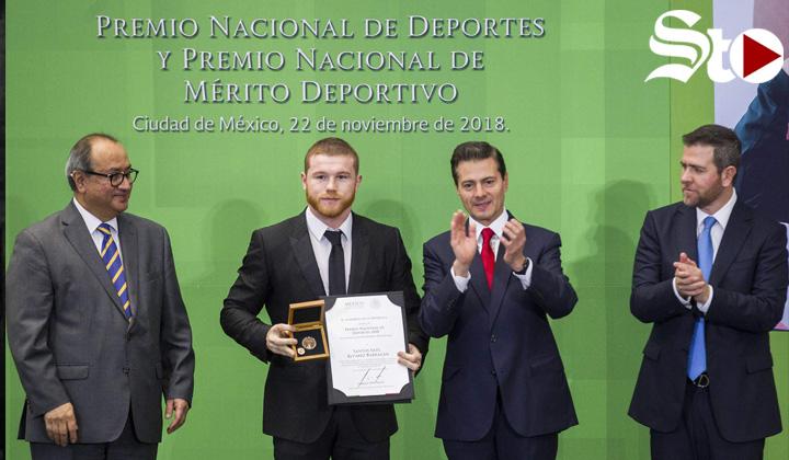Entrega EPN el Premio Nacional de Deportes 2018