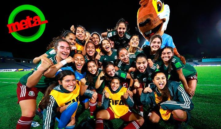 `Trí' femenil Sub-17 hace historia en el Mundial Uruguay 2018