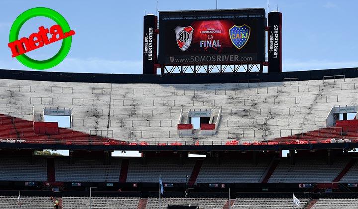 Final de Libertadores se jugará fuera de Argentina