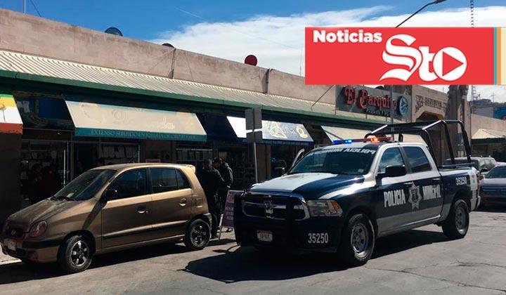 Asaltan joyería en el Mercado Juárez de Torreón