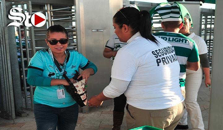 Más de mil efectivos resguardaran Santos Vs Monterrey