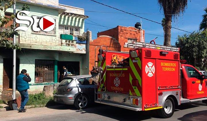 Tres personas resultan con signos de intoxicación tras incendio
